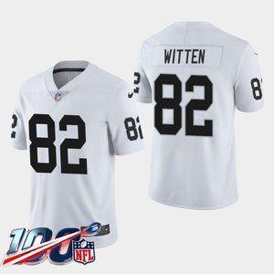 Las Vegas Raiders Jason Witten White Jersey